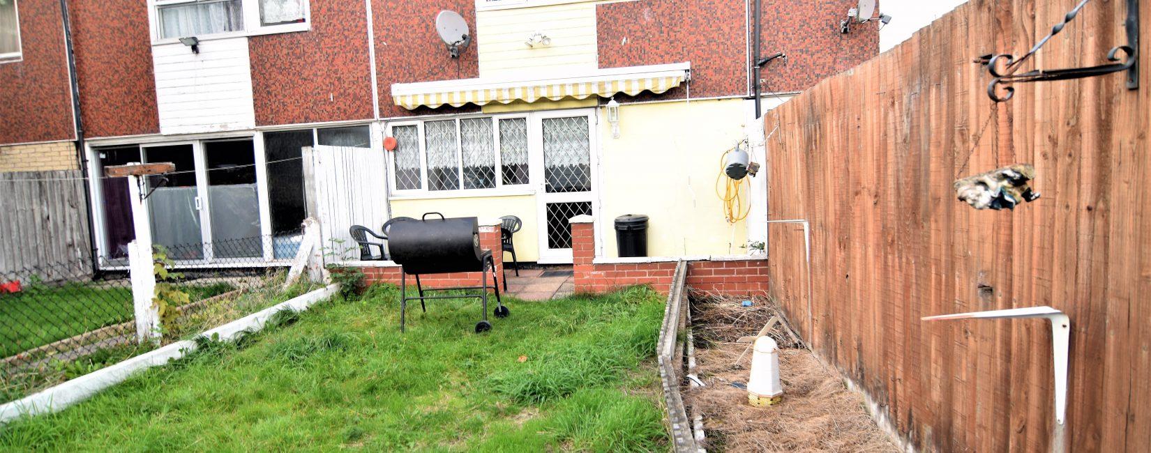 Garden with BBQ